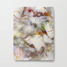 Marble Effect #5 Metal Print