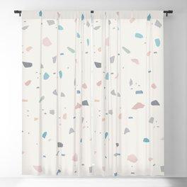 Pastel Creme Terrazzo #1 #decor #art #society6 Blackout Curtain