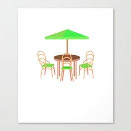Paddy O'Furniture St Pattys Day Meme Patio Furniture Canvas Print