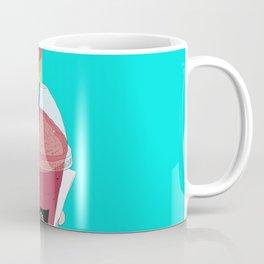 Salted Caramel Raspberry Ice Frappe Coffee Mug