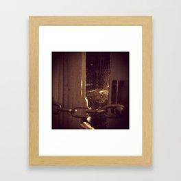 London brown Framed Art Print