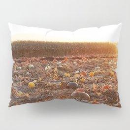 Pumpkin Patch Sunset C Pillow Sham