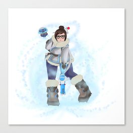 Mei Cryo-Freezing Canvas Print