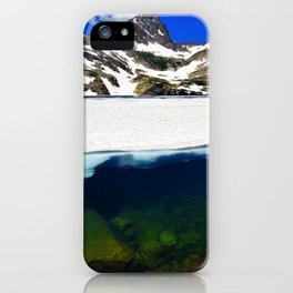 Blue Lake - Indian Peaks iPhone Case