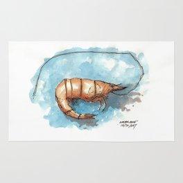 Mississippi Gulf Coast Shrimp Rug