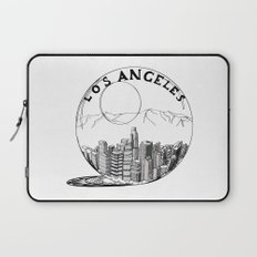 Los Angeles in a glass ball Laptop Sleeve