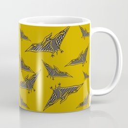 Pterosauria mustard Coffee Mug