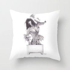 Sleeping Forest Throw Pillow