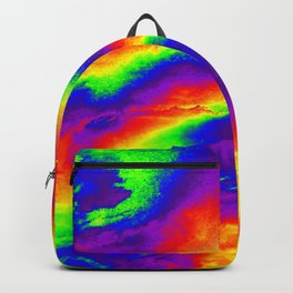Psychedelic  Fire Backpack