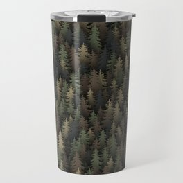 Forest camouflage Travel Mug