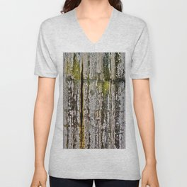 Moss Abstracted Unisex V-Neck