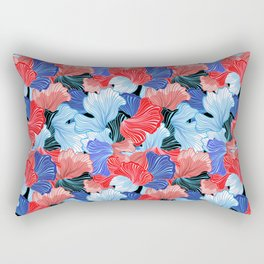 Beautiful vector illustration pattern of colorful abstract Rectangular Pillow