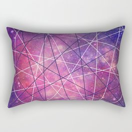 Fly Up to the Heavens (color) Rectangular Pillow