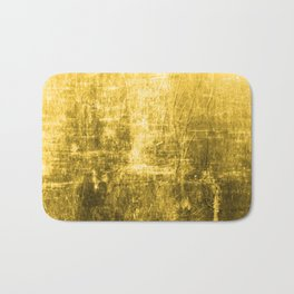SunYellowTextured & Distressed Design Bath Mat