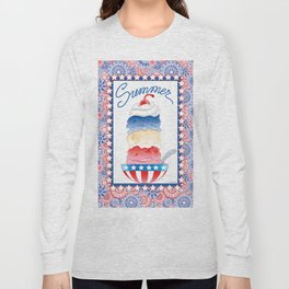Summer Sundae Long Sleeve T-shirt