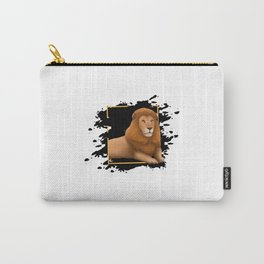 Lion In Art Carry-All Pouch