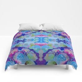Staycation (blue) Comforters