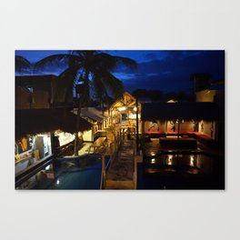 Gili Backpackers #1 Canvas Print