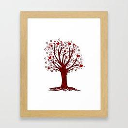 Heart Tree (2) Framed Art Print