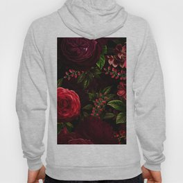 Mystical Night Roses Hoody