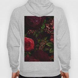 Mystical Night Roses Hoody