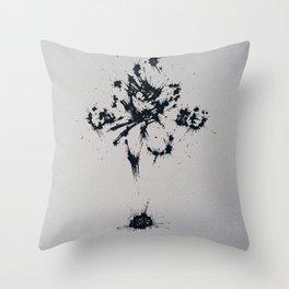 Splaaash Series - Go Goku Ink Throw Pillow