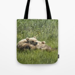 Siblings Make Good Pillows - Bear Cubs 1 Tote Bag