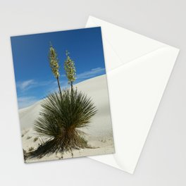Soap Yucca In The White Sands Dunes Stationery Cards