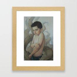Tender Briar Framed Art Print
