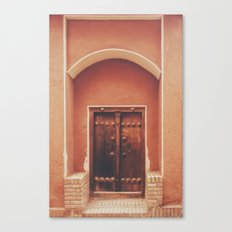 Abyaneh Door #2 (from the series 'Iranian Doors') Canvas Print