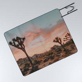 Joshua Tree IX / California Desert Picnic Blanket