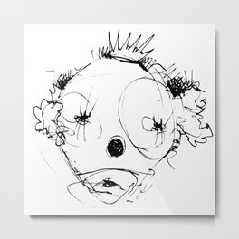 Clowns in Crowns #4 Metal Print