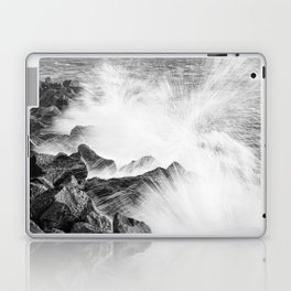 Morris Island Light Splash Laptop & iPad Skin