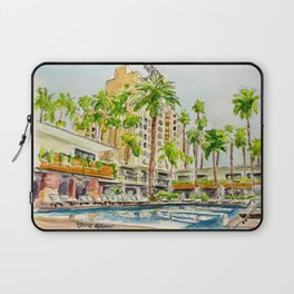 The Hollywood Roosevelt Pool Laptop Sleeve