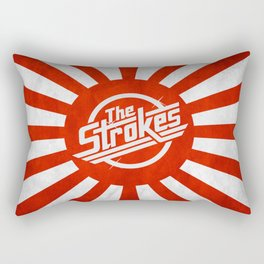 The Strokes Logo Welcome To Japan Rectangular Pillow