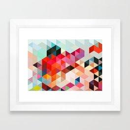 Heavy words 01. Framed Art Print
