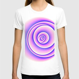 Mandala - Graphic Art (Flower Element) T-shirt