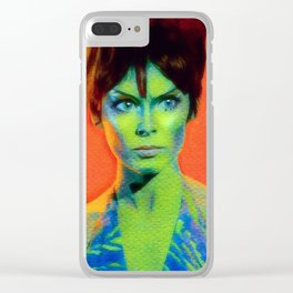Orion Marta Clear iPhone Case