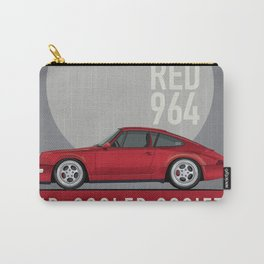 1989 964 Carrera 4 Guards Red Patrick Holness Carry-All Pouch