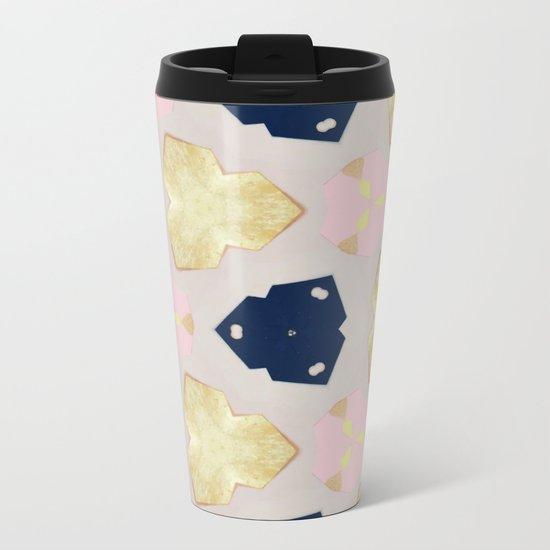 Pastel Pattern #society6 #decor #buyart Metal Travel Mug