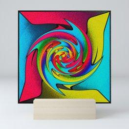 Whirlpool Wind Mini Art Print