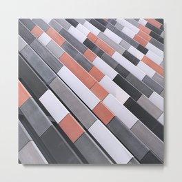Repeating Tiles Metal Print