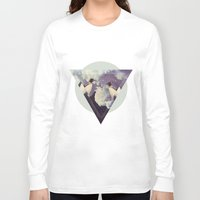 penguins Long Sleeve T-shirts featuring penguins by oyamet