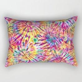 Sunny Tie Dye Rectangular Pillow