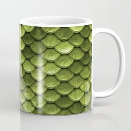 Mermaid Scales | Green with Envy Coffee Mug