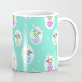 jars with flowers Coffee Mug
