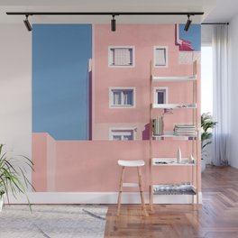 Sunny House And Blue Sky Wall Mural
