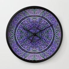 Zentangle Mandala Wall Clock