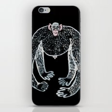ape and his little friend iPhone & iPod Skin