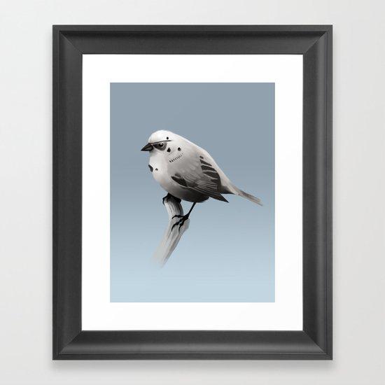 Bird Trooper Framed Art Print